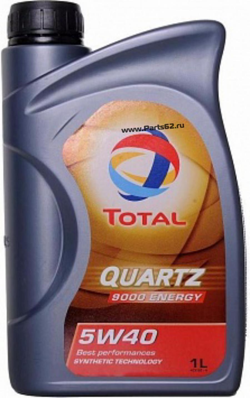 Масло моторное синтетическое QUARTZ 9000 ENERGY 5W-40, 1л