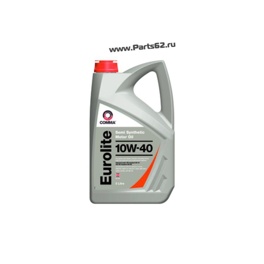 Масло моторное полусинтетическое Eurolite 10W-40, 5л
