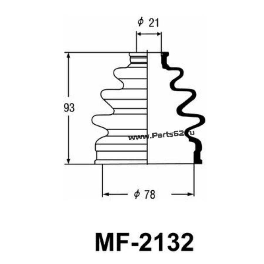 """Привода пыльник """"Masuma"""" MF-2132"""