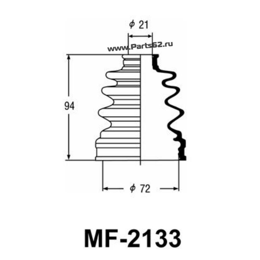 """Привода пыльник """"Masuma"""" MF-2133"""