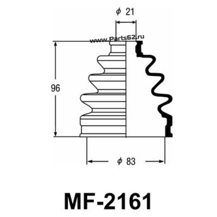 """Привода пыльник """"Masuma"""" MF-2161"""