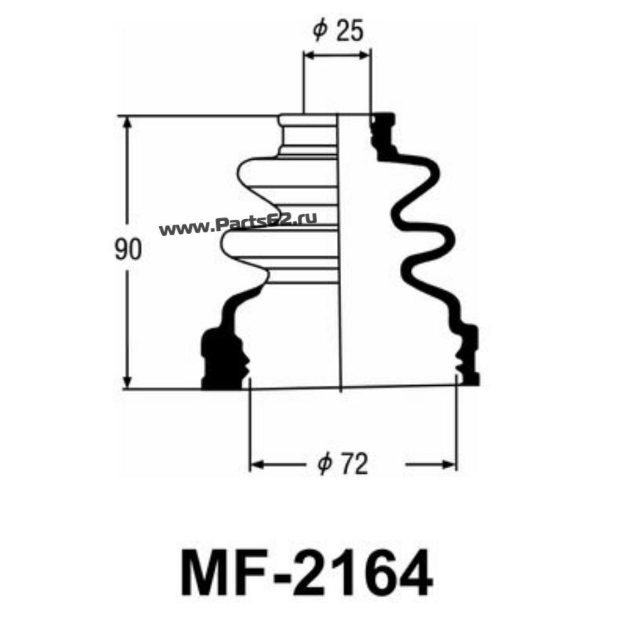 """Привода пыльник """"Masuma"""" MF-2164"""