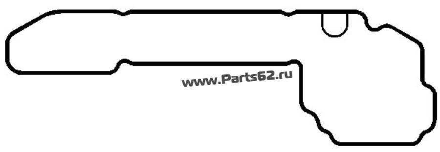 Прокладка, крышка картера рулевого механизма