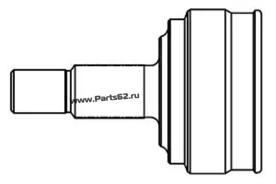 Шарнирный комплект, приводной вал