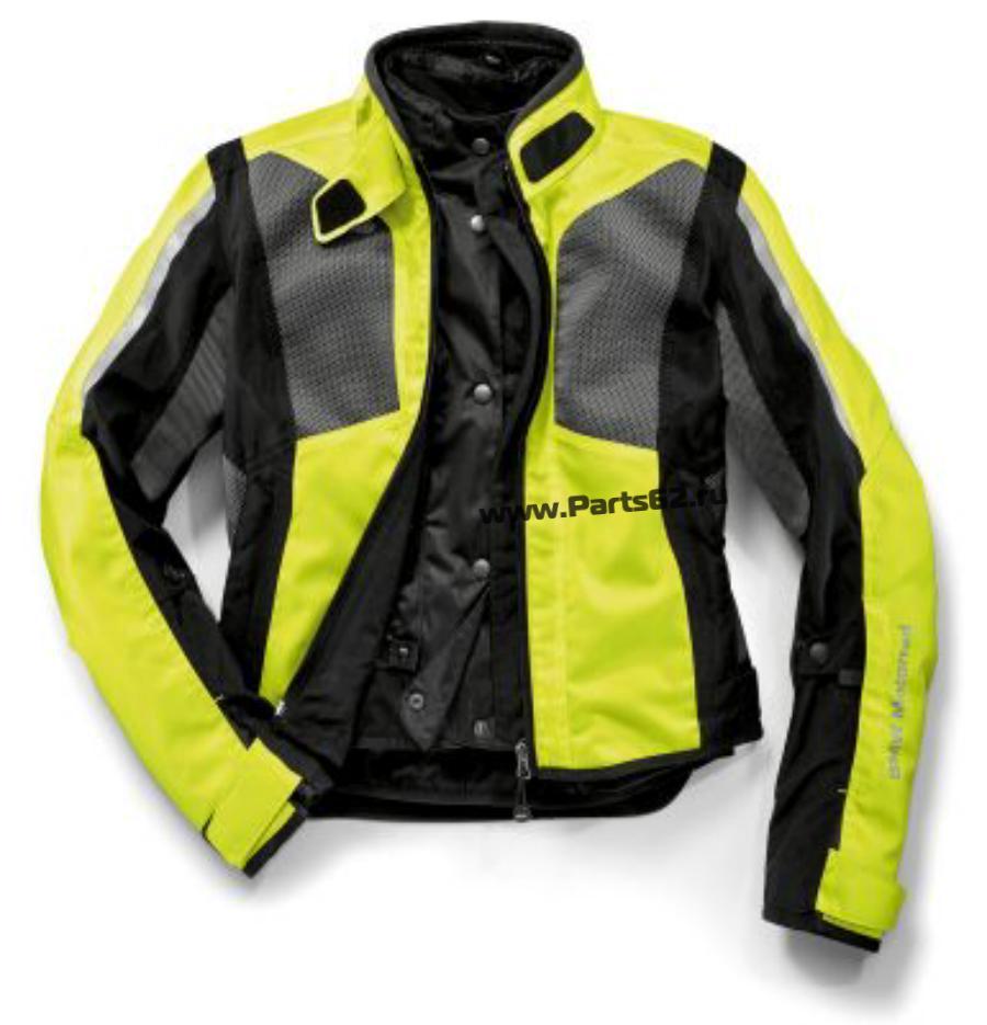 Женская мотокуртка BMW Motorrad Jacket AirShell Ladies Neon-yellow