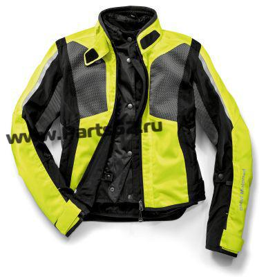 Женская мотокуртка BMW Motorrad Jacket AirShell Ladies Neon-yellow