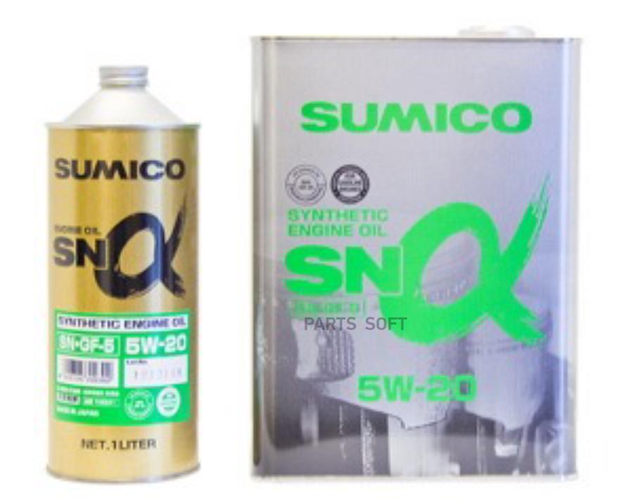 Масло моторное синтетическое SN/GF-5 5W-20, 20л