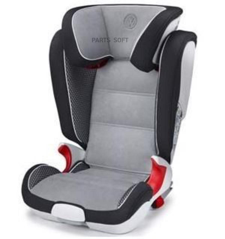 Детское автокресло Volkswagen G2-3 ISOFIT Grey/Black