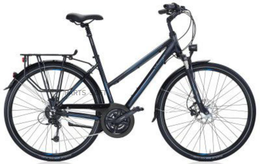 Женский туристический велосипед Volkswagen Ladie's Trekkingbike Black