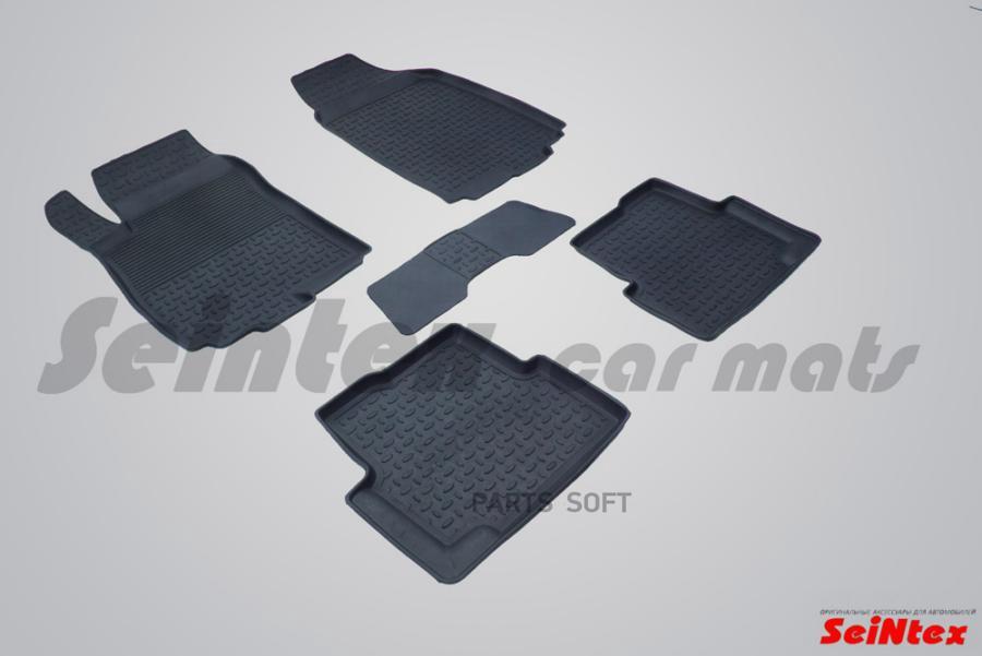 Резиновые коврики с высоким бортом