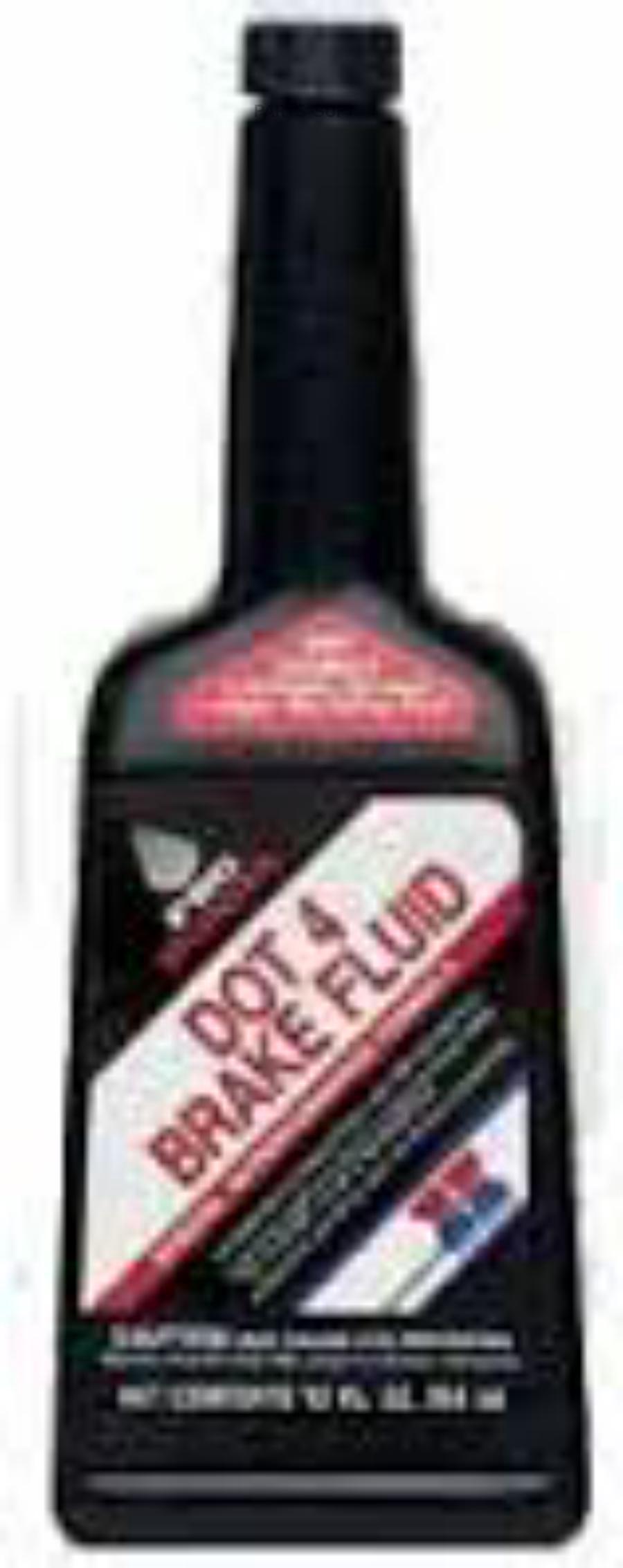 Тормозная жидкость DOT 4, Brake Fluid, 0.355л