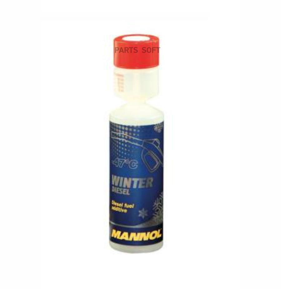 Зимний антигель дизельного топлива Mannol 6721 Winter Diesel