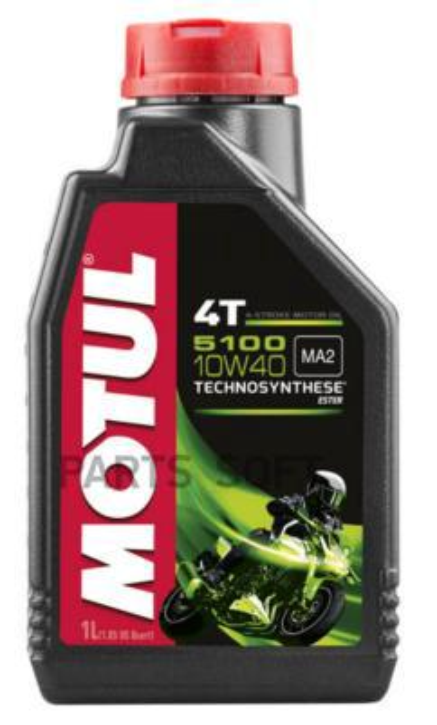 Масло моторное полусинтетическое 5100 4T 10W-40, 1л