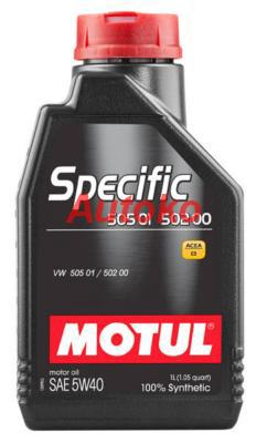 Масло моторное синтетическое Specific VW502,00-505,00-505,01 5W-40, 1л