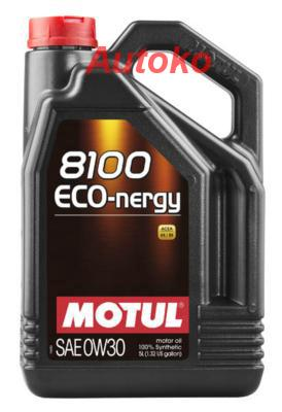 Масло моторное синтетическое 8100 ECO-NERGY 0W-30, 5л