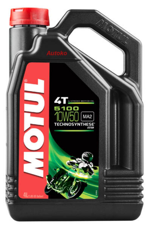 Масло моторное полусинтетическое 5100 ESTER 10W-50, 4л