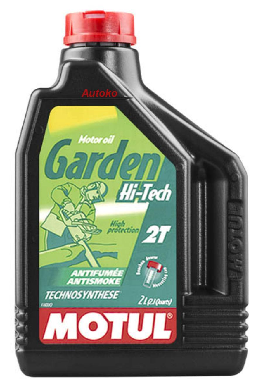 Масло моторное полусинтетическое Garden 2T Hi-Tech, 2л
