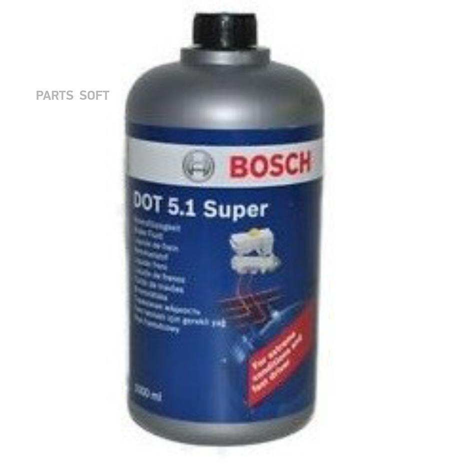 Жидкость тормозная dot 5,1, 'Brake Fluid SUPER', '0,5л