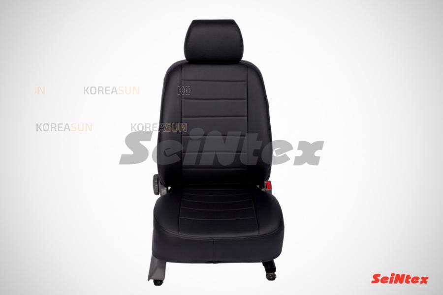 Чехлы на сиденье  Volkswagen Amarok (цельная спинка) 2010-