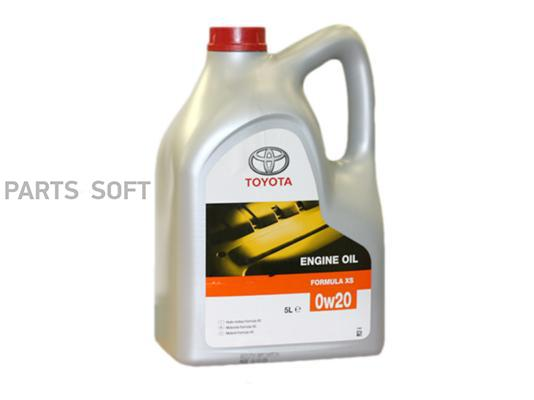 Toyota Engine oil  Formula XS .