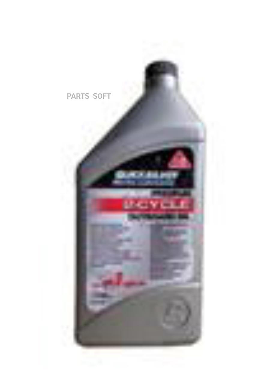 Масло моторное минеральное Premium 2-Cycle Outboard Oil TC-W3, 1л