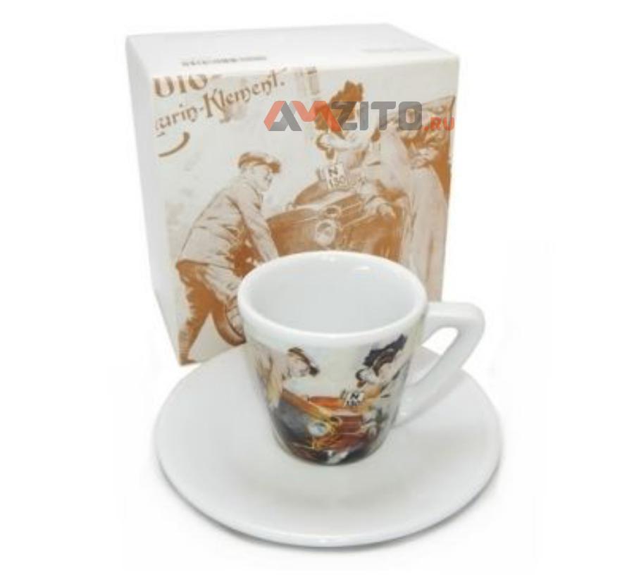 Чашка с блюдцем для эспрессо Skoda Espresso Cup Voiturette N130