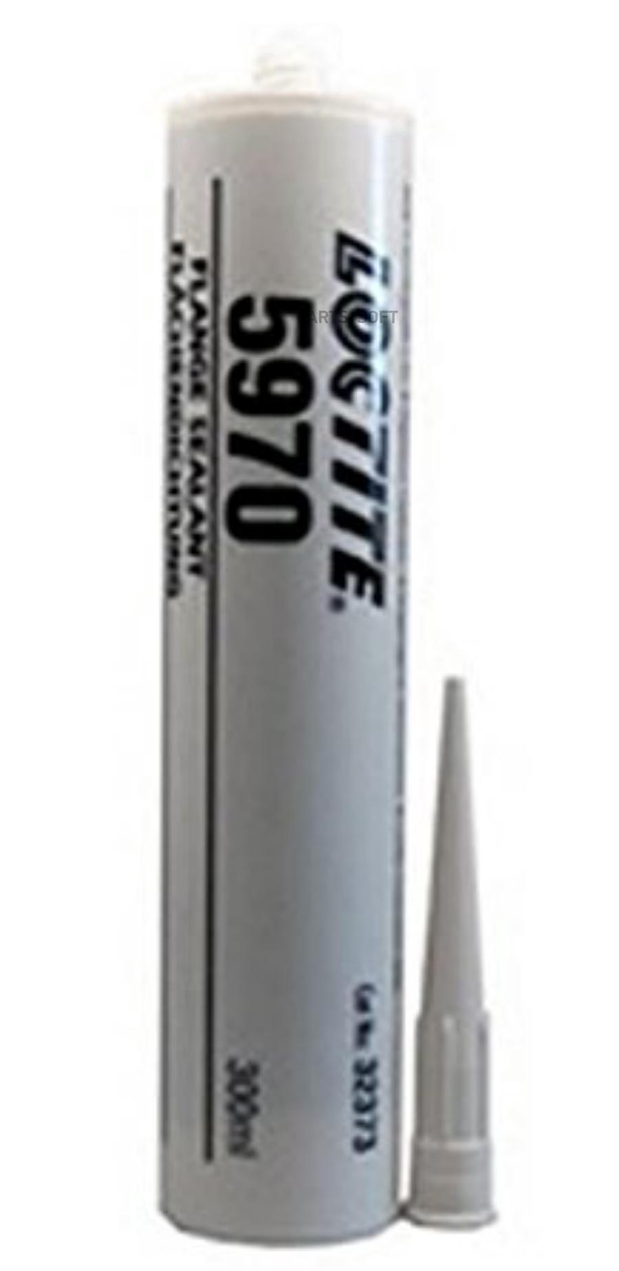 Силиконовый нейтральный герметик, черный 300 ml