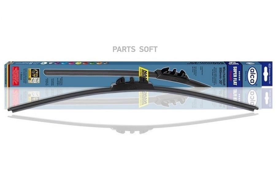 "Щетка стеклоочист. 14"" /35 см. SUPER FLAT 044000"