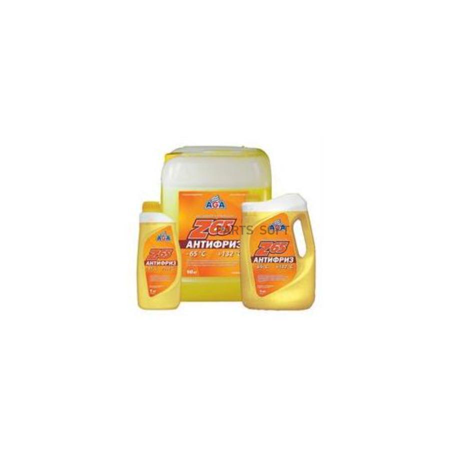 Антифриз, готовый к применению -65с, желтый Z65, 946мл