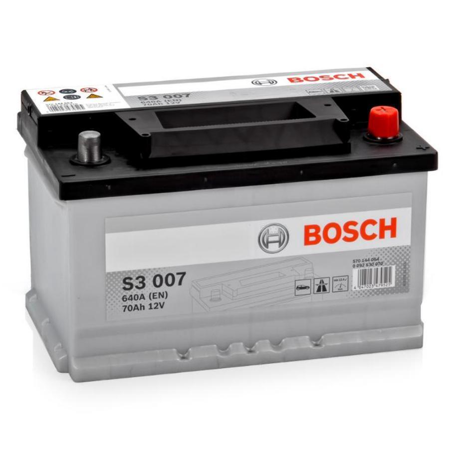 Аккумулятор Бош 70 низкий обратной полярности BOSCH