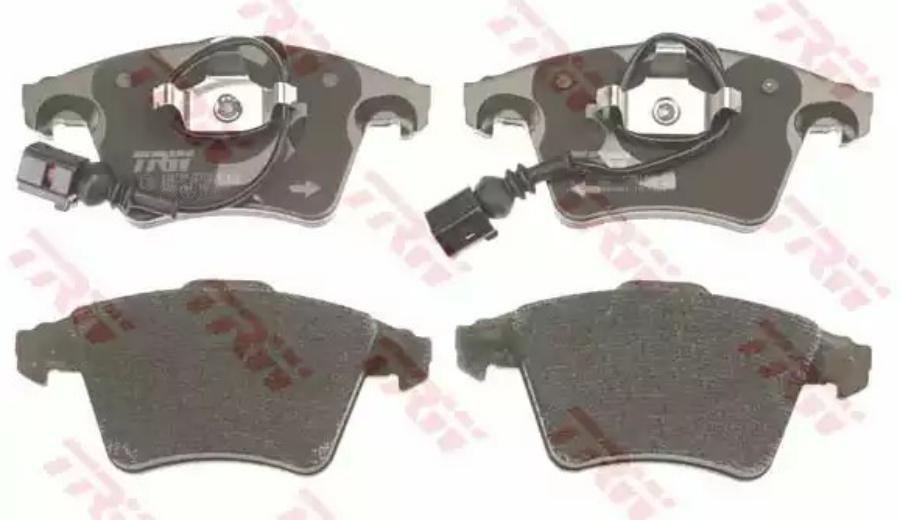 Комплект тормозных колодок, дисковый тормоз TRW