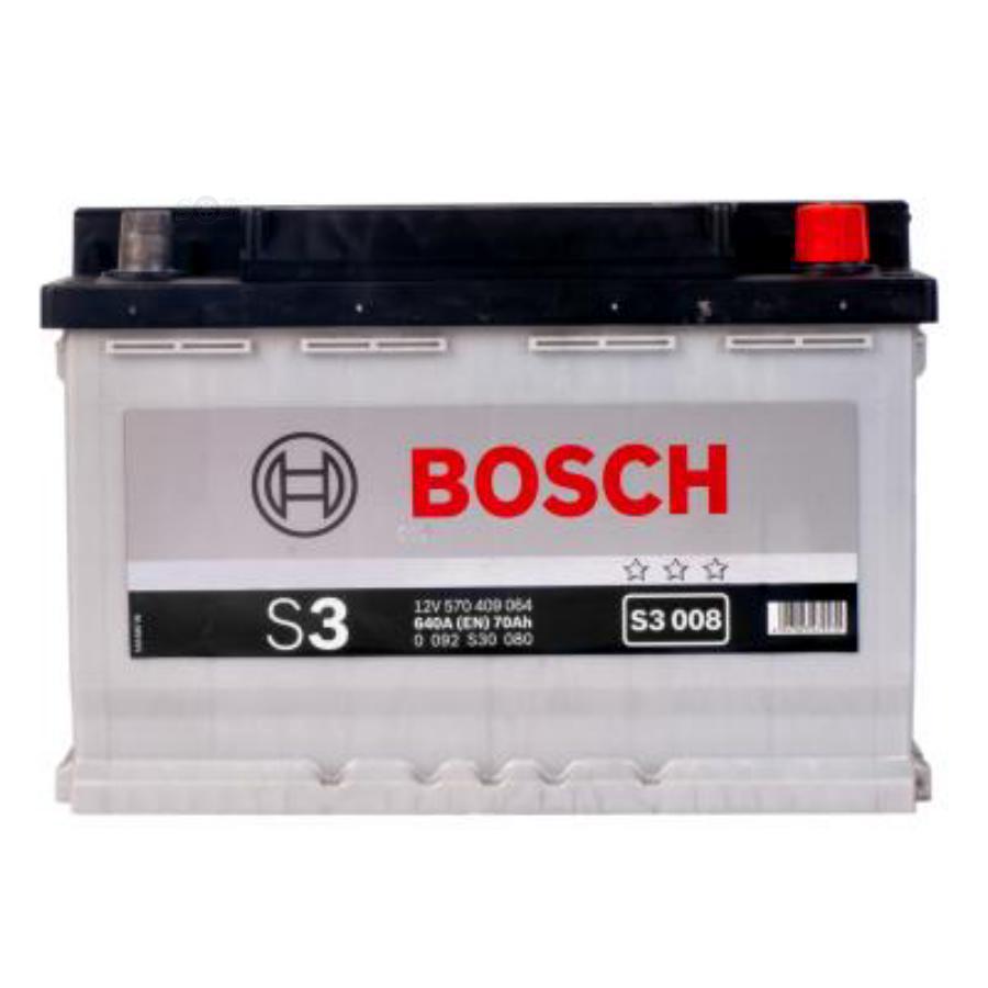 Аккумулятор Бош 70 обратной полярности S3 BOSCH