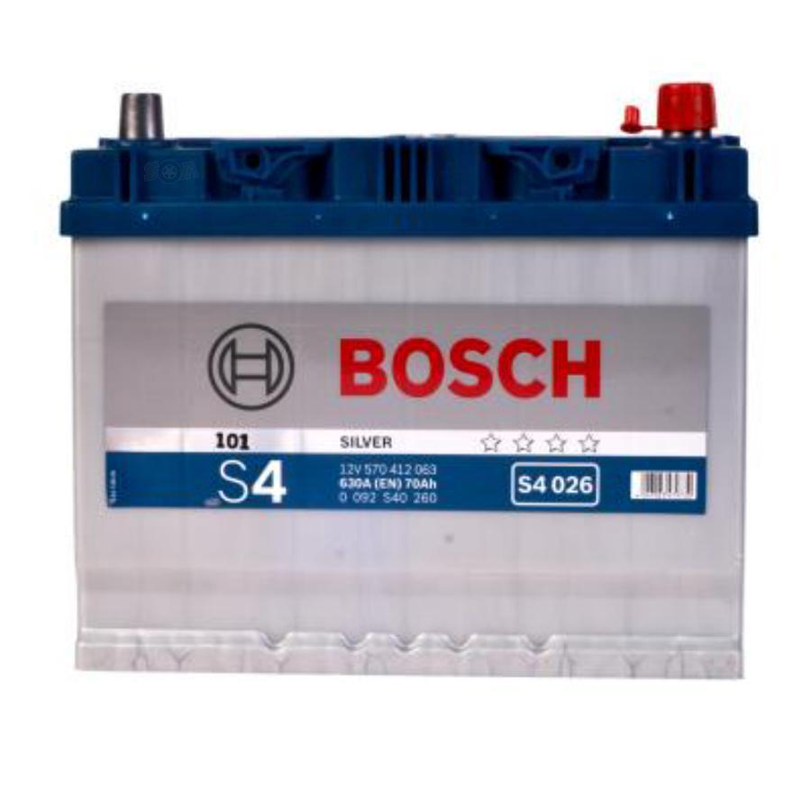 Аккумулятор для ниссан X-трейл Бош 70 обратной полярности  BOSCH