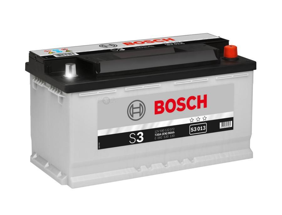Аккумулятор Бош 90 S3 обратной полярности BOSCH