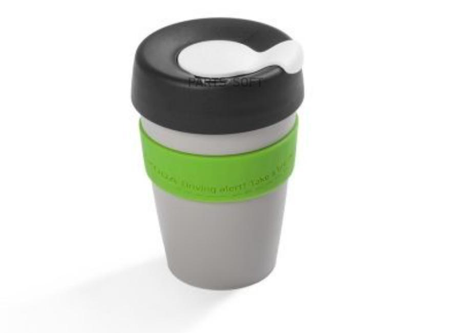 Термокружка Skoda Thermo Mug Grey Size M