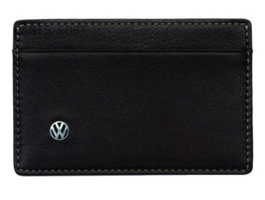 Визитница на 2 карты Volkswagen Business Card Case Brown