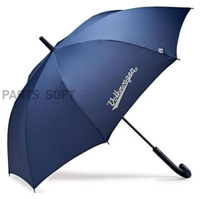 Зонт трость Volkswagen Stick Umbrella Classic Blue