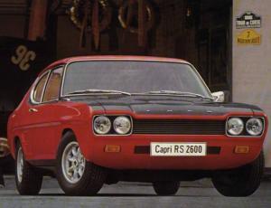 FORD CAPRI (ECJ) 2300
