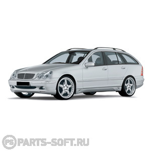 MERCEDES-BENZ C-CLASS T-Model (S203) C 200 CDI (203.204)