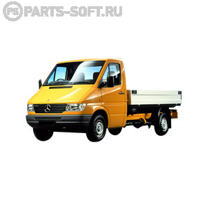 MERCEDES-BENZ SPRINTER 2-t c бортовой платформой/ходовая часть (901, 902) 208 CDI