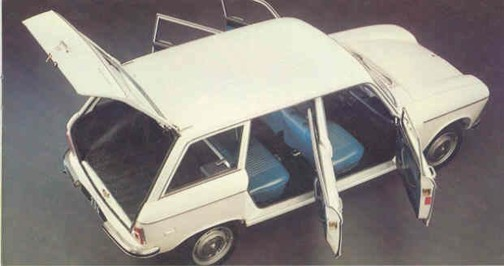 PEUGEOT 204 Break 1.1 Grand Luxe