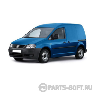 VW CADDY III фургон (2KA, 2KH, 2CA, 2CH) 2.0 TDI 16V 4motion