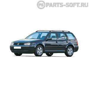 VW GOLF IV Variant (1J5) 2.8 V6 4motion
