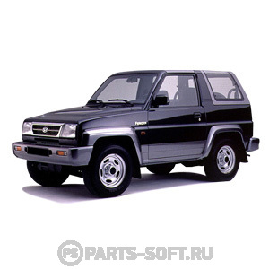 DAIHATSU FEROZA Hard Top (F300) 1.6 i 16V 4x4