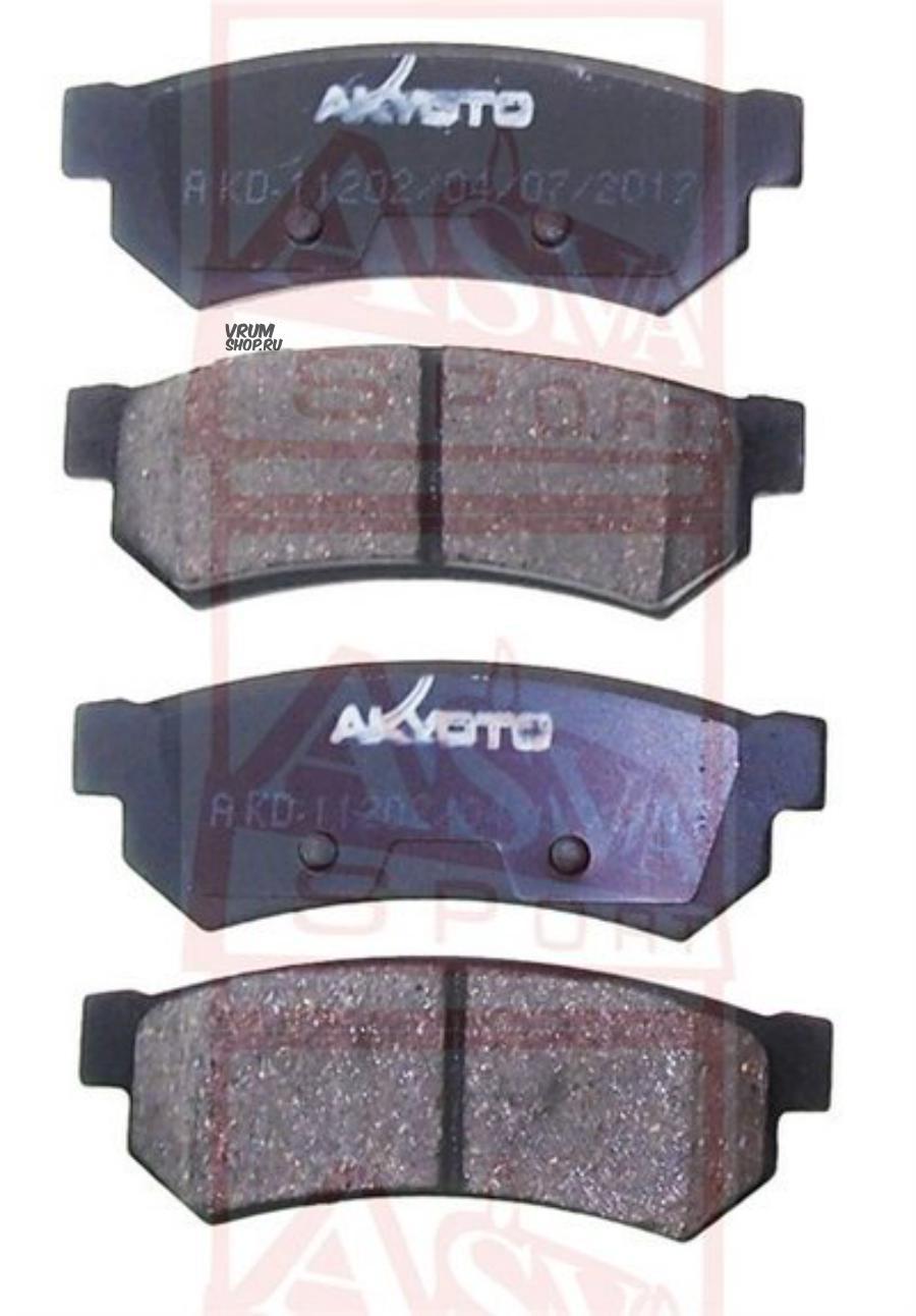 Торм. колодки дисковые задн. Chevrolet Lacetii (J200) 05-, Daewoo Gentra 13- (M2625232)