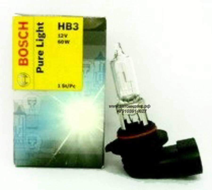 Лампа галоген Pure Light HB3 12В 60Вт