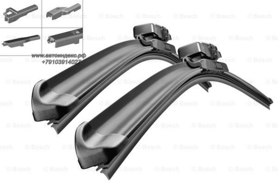 Набор щеток стеклоочистителей Aerotwin Multi-Clip