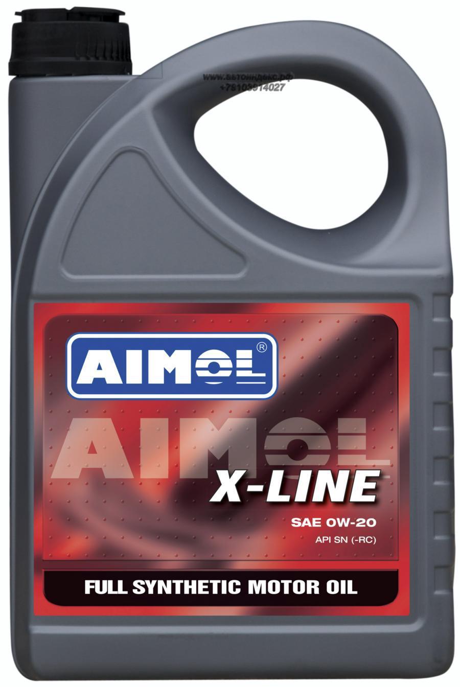 Масло моторное синтетическое X-Line 0W-20