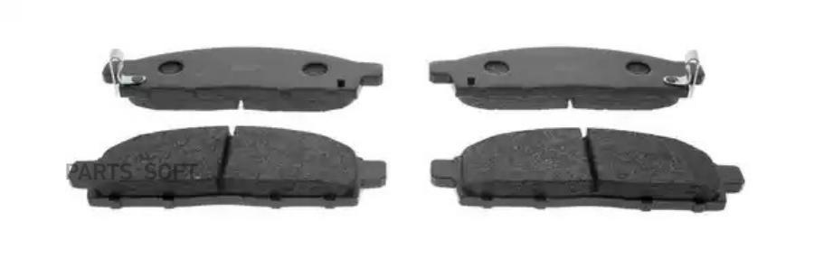 колодки тормозные передние mitsubishi padjero sport 2