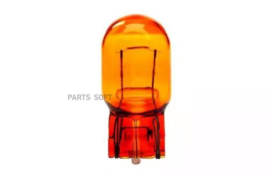 лампа narva безцокольная W3x16d, 12V-21W (желтая) NARVA